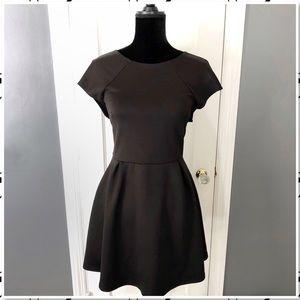 Romeo + Juliet Couture Scuba Fit & Flare LBD Dress